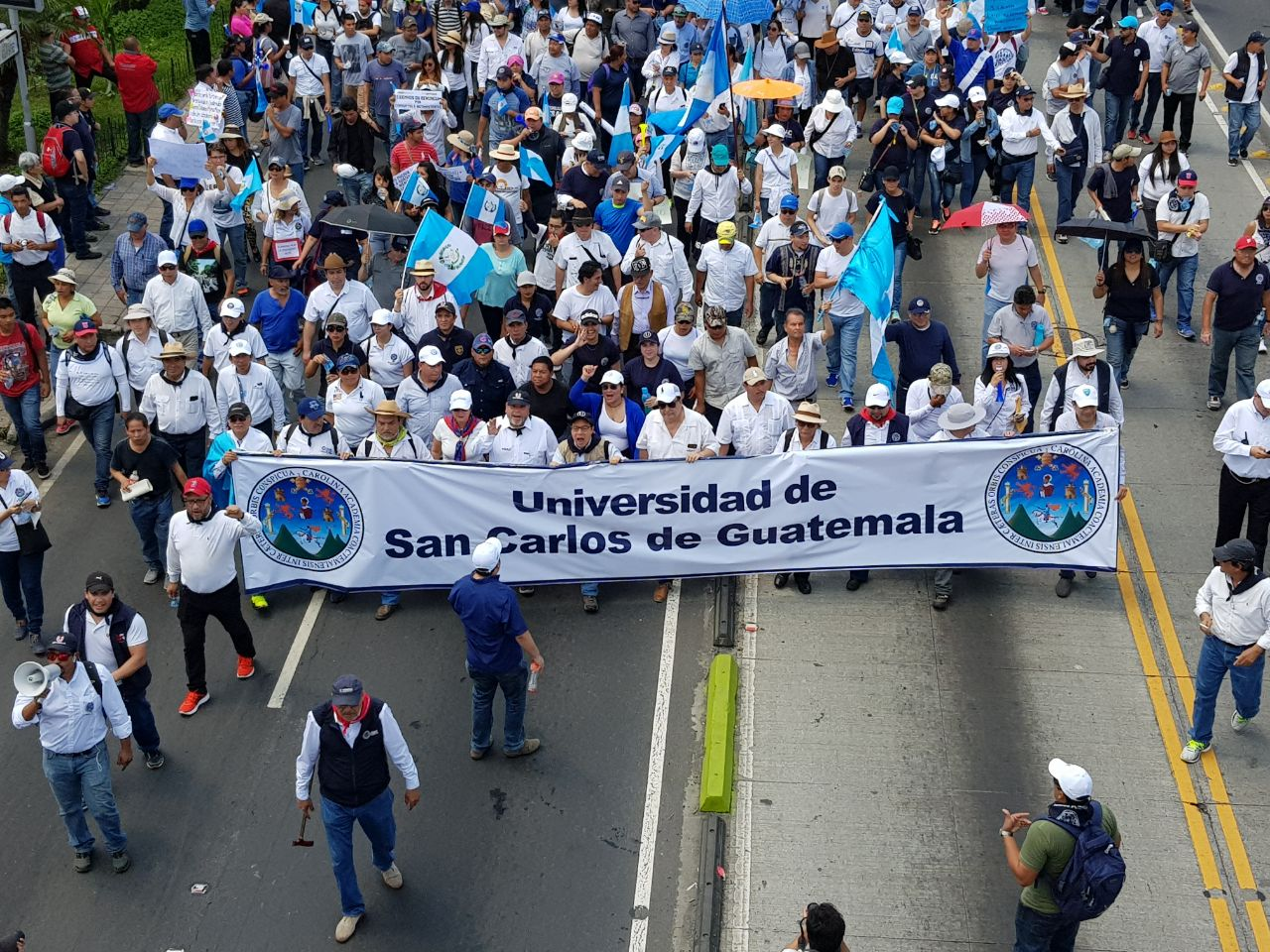 20 09 17 Marcha Pacífica USAC 2